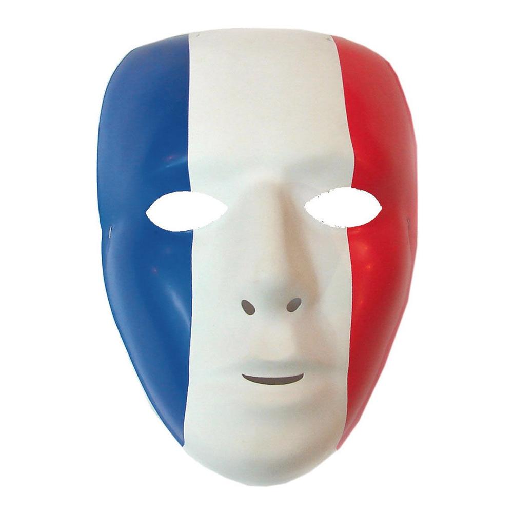 Ansiktsmask Frankrike - One size