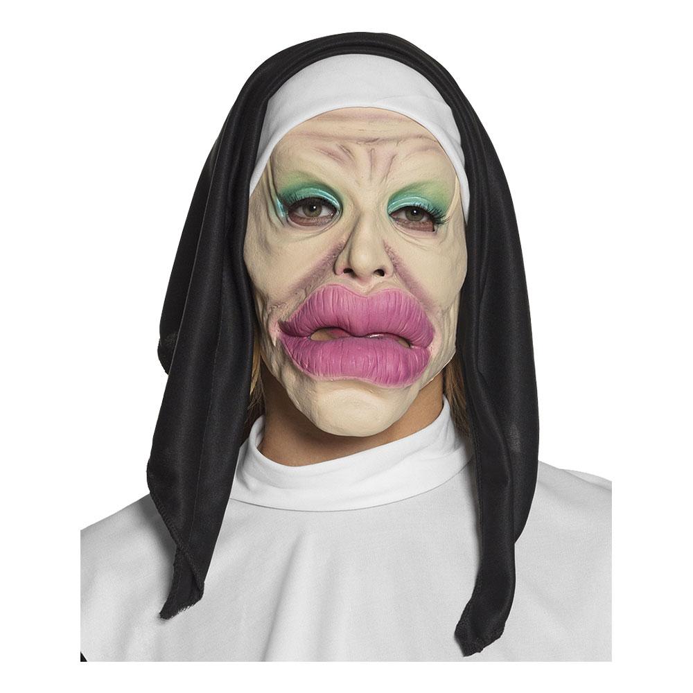 Nunna Mask Heliga Läppar - One size