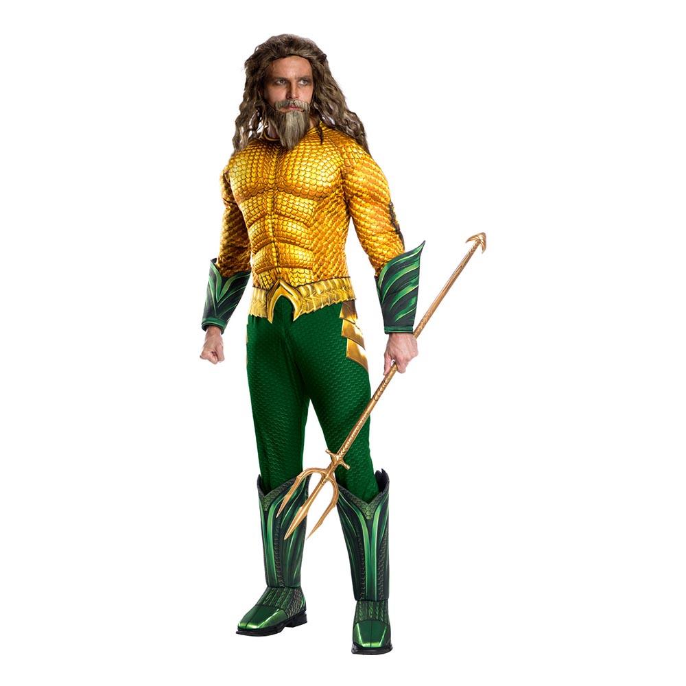 Aquaman Deluxe Maskeraddräkt - Standard