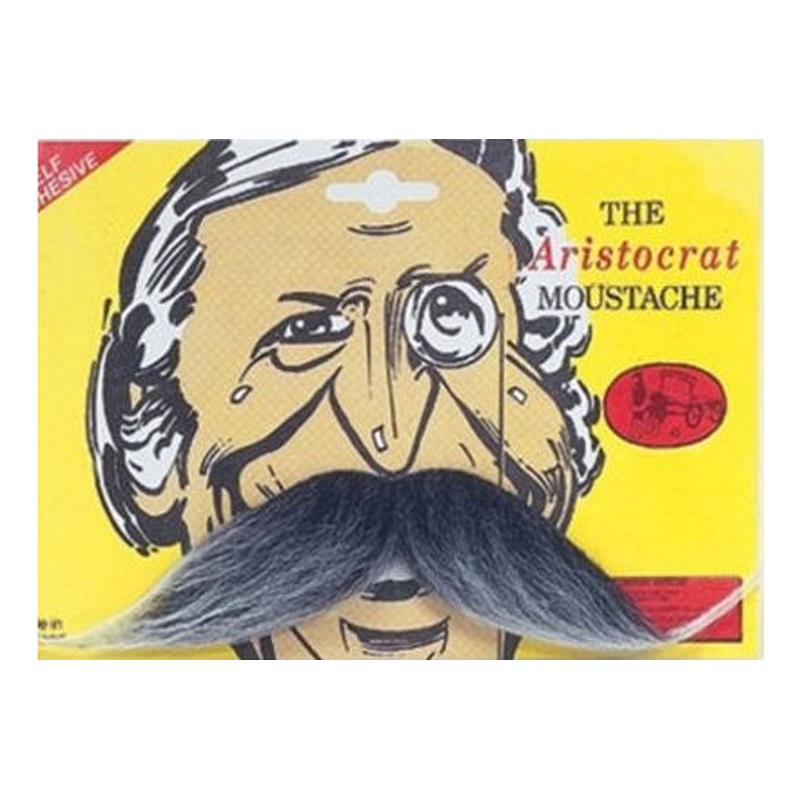 Aristokrat Mustasch - Grå