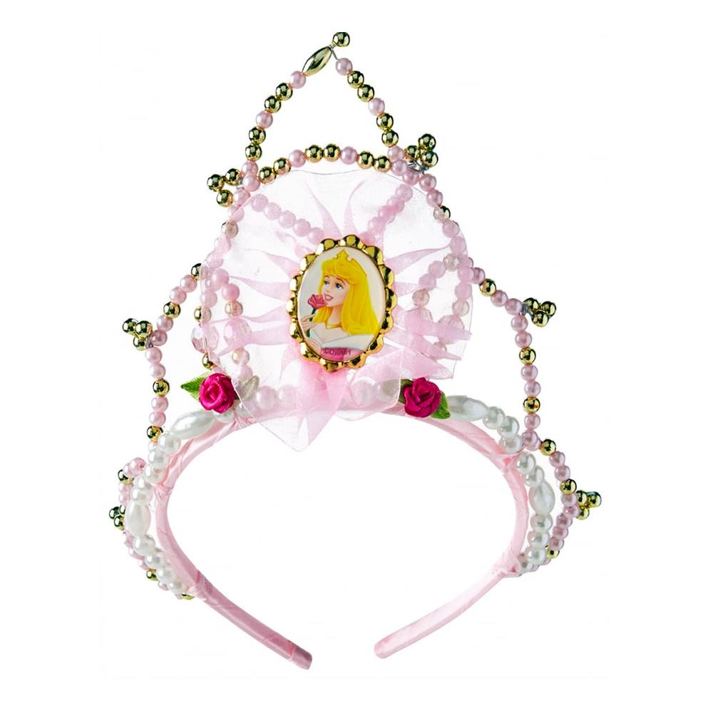 Törnrosa Tiara med Pärlor - One size