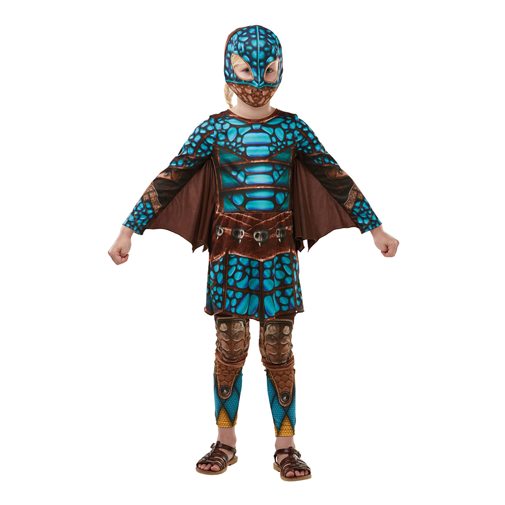 Astrid Battlesuit Teen Maskeraddräkt - One size
