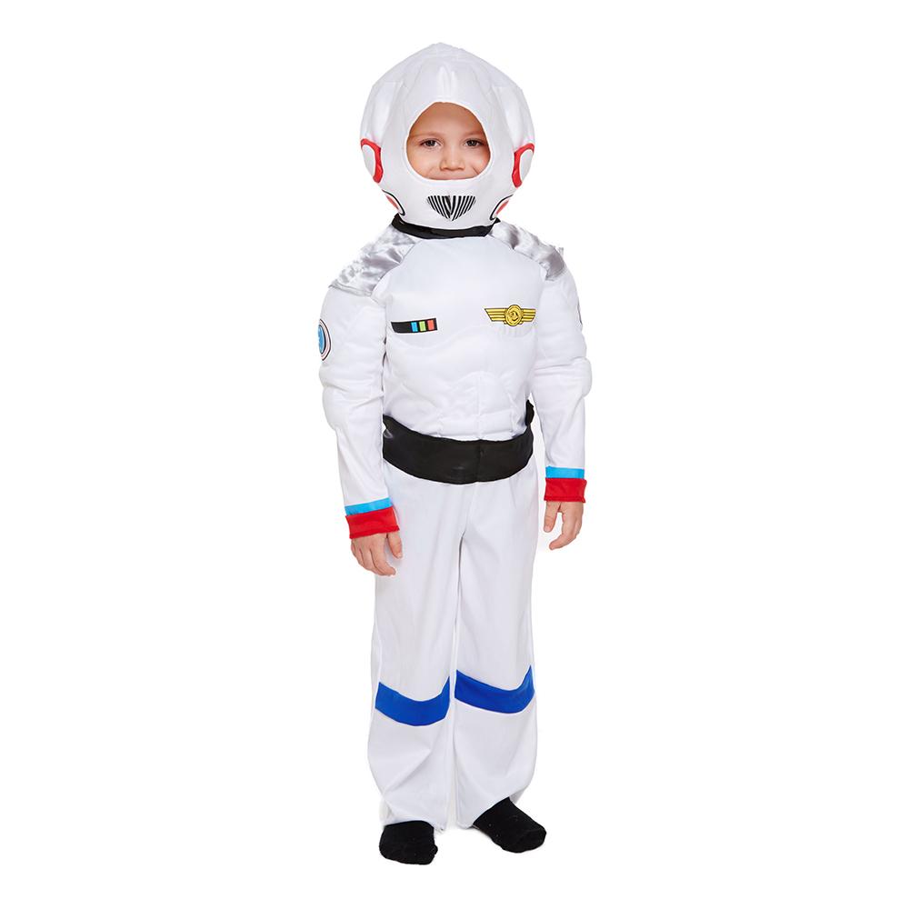 Astronaut Toddler Maskeraddräkt - One size