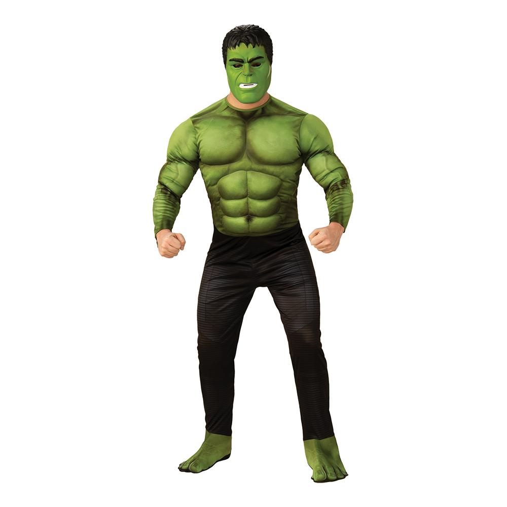 Avengers Hulken Deluxe Maskeraddräkt - X-Large