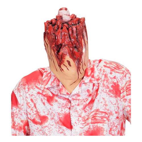 Avhugget Huvud Mask - One size