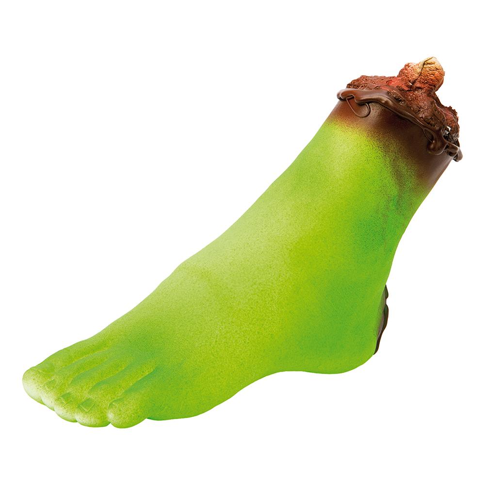 Avsågad Grön Fot