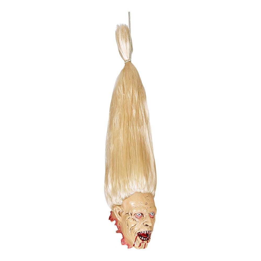 Avsågat Zombie Huvud Mini Prop