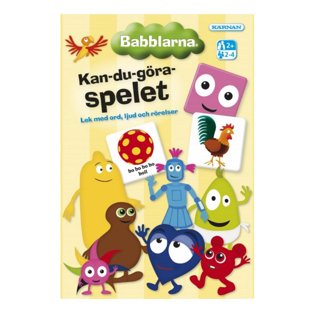 Babblarna Kan-du-göra-spelet Barnspel