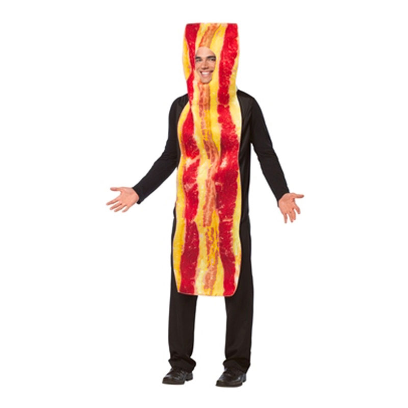 Bacon Maskeraddräkt - One size