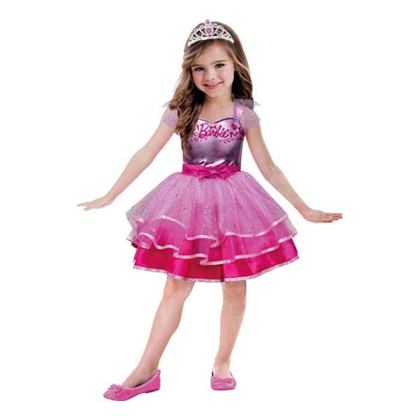 Ballerina Rosa Barn Maskeraddräkt - Small