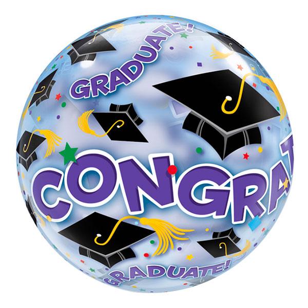 Bubbelballong Examen Congratulations
