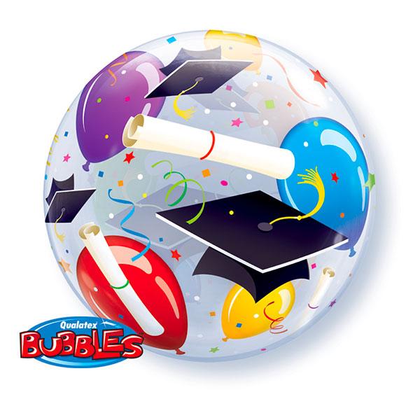 Bubbelballong Examenshattar & Diplom