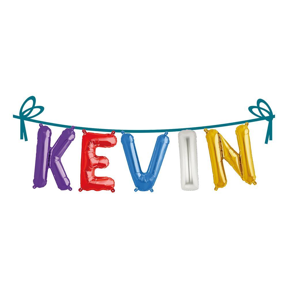 Ballonggirlang Folie Namn - Kevin