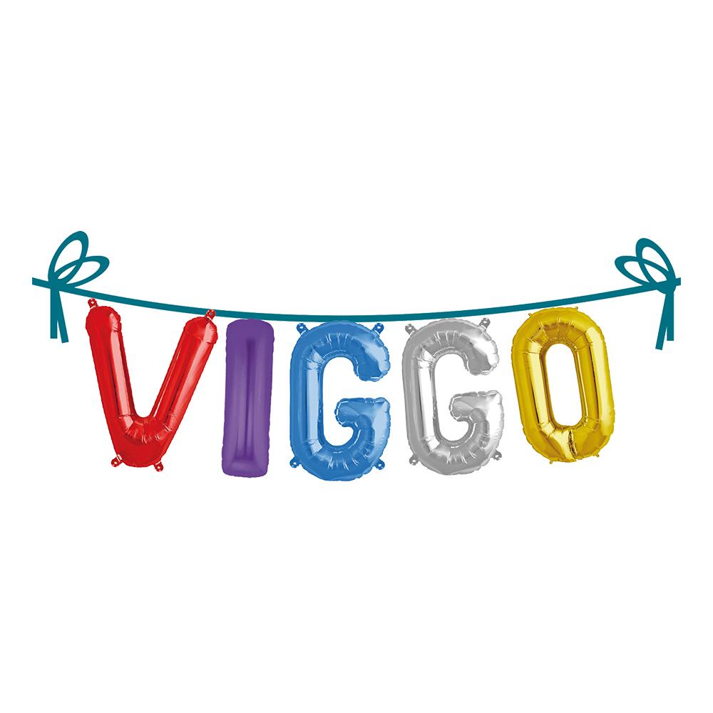 Ballonggirlang Folie Namn - Viggo