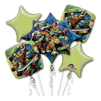 Ballongbukett Ninja Turtles