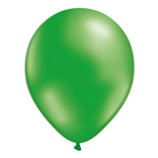 Ballonger Gröna Metallic - 10-pack Billigt 29 kr db15be99fb82e