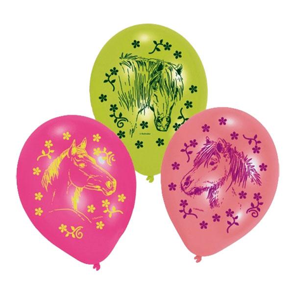 Ballonger Hästar - 6-pack