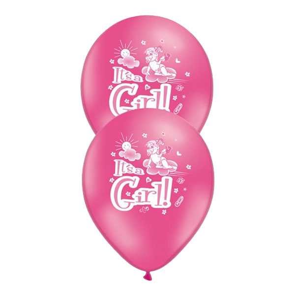 Ballonger It's a Girl - 10-pack
