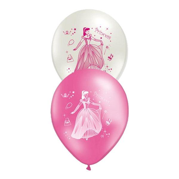 Ballonger med Prinsessor - 10-pack