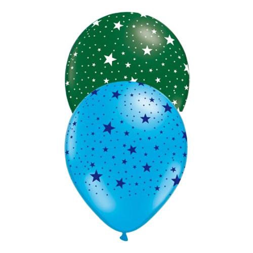 Ballonger med Stjärnor - 10-pack