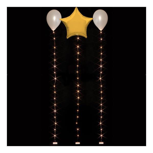LED-slinga för Ballonger - Varm Vit 1.8 m
