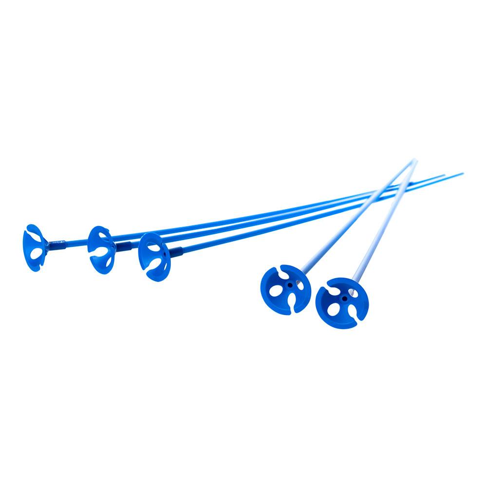 Ballongpinnar Blå - 10-pack