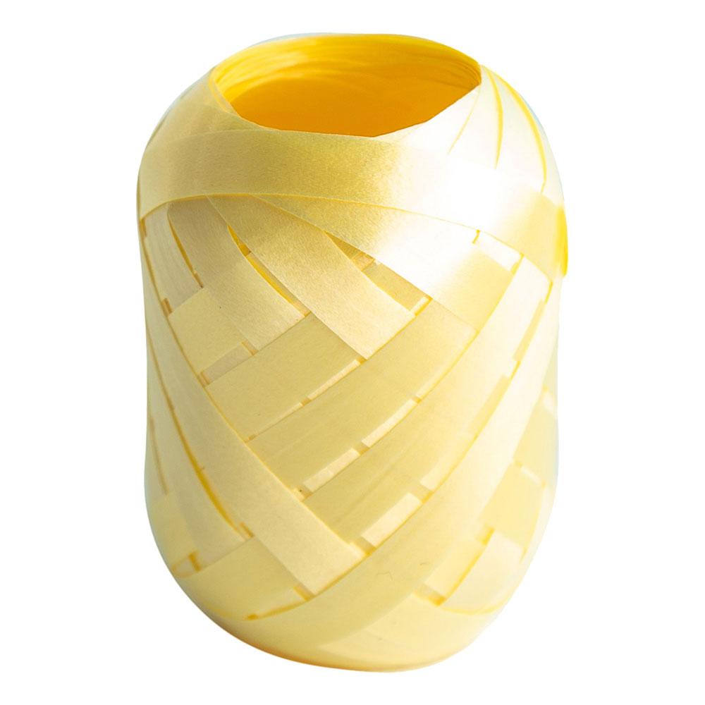 Ballongsnöre Elfenben - 20m * 7mm