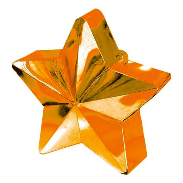 Ballongtyngd Stjärna Orange