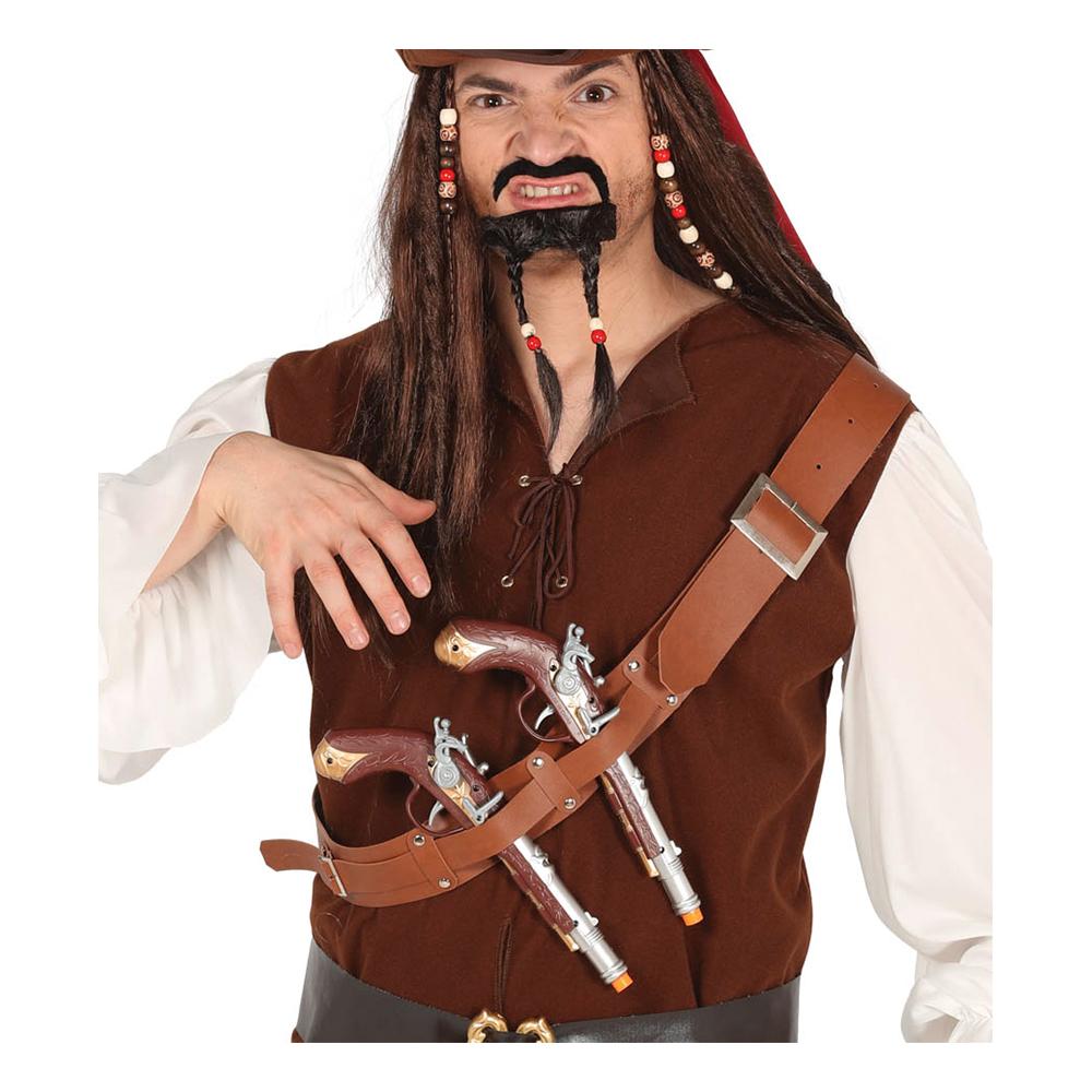 Bälte med Två Piratpistoler
