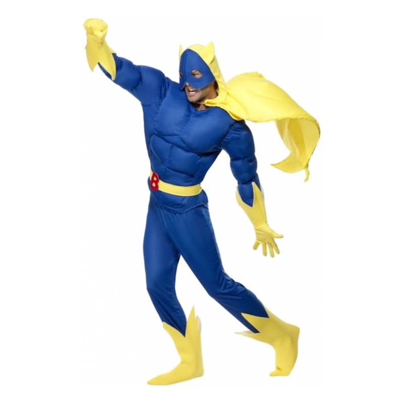 Bananaman Maskeraddräkt - Medium