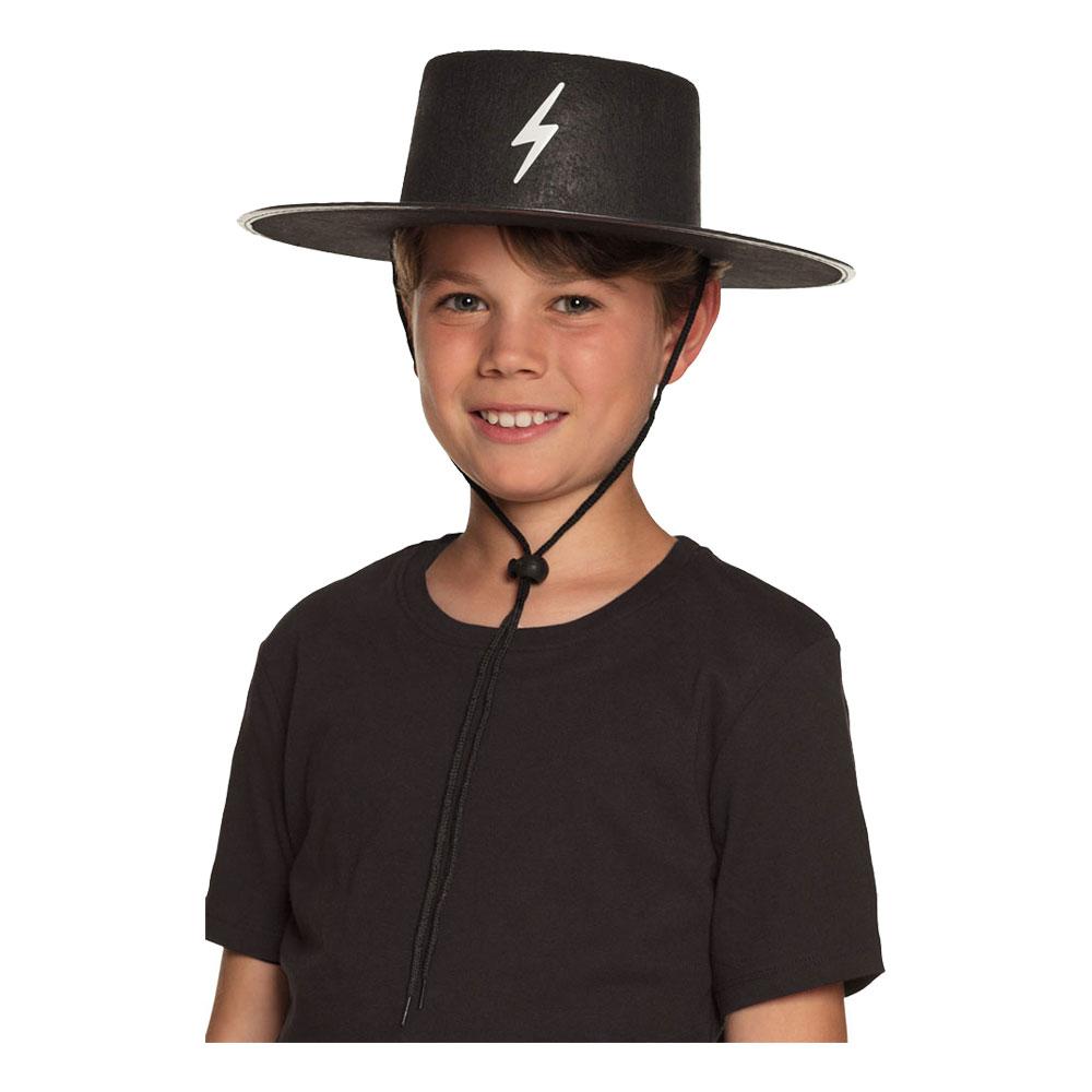 Bandit Hatt Barn med Halsrem - One size