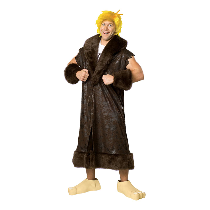 Barney Rubble Maskeraddräkt - X-Large