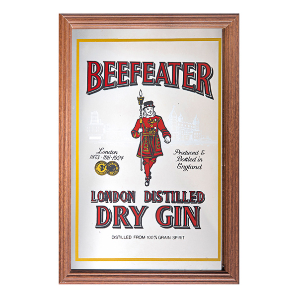 Barspegel Beefeater