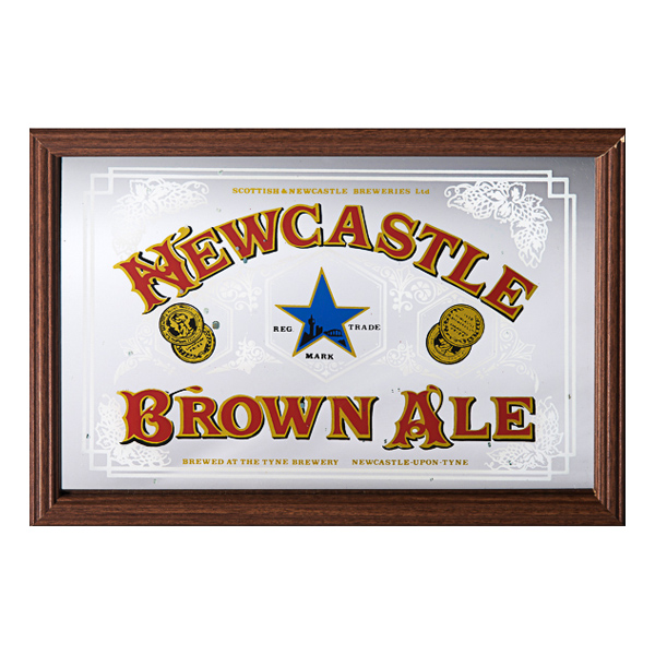 Barspegel Newcastle Brown