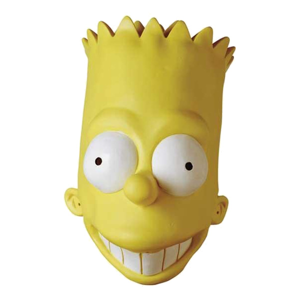 Bart Simpson Vinylmask - One size