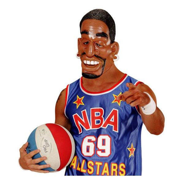 Basketspelare Mask - One size