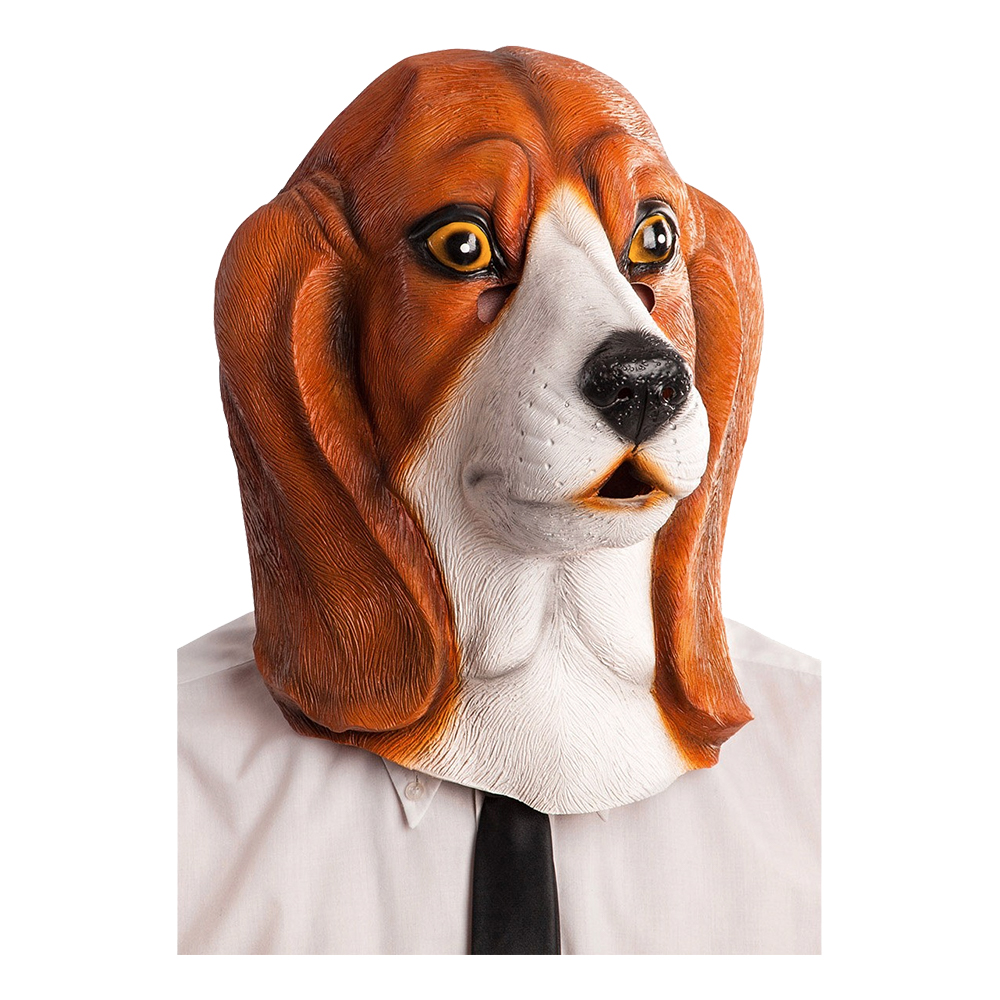 Basset Hund Mask - One size