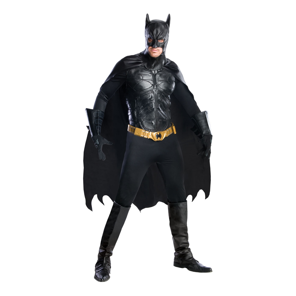 Batman Deluxe Maskeraddräkt - Medium