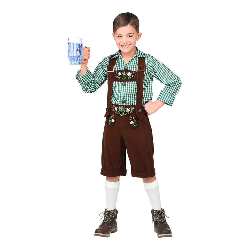 Bavarian Barn Maskeraddräkt - Medium