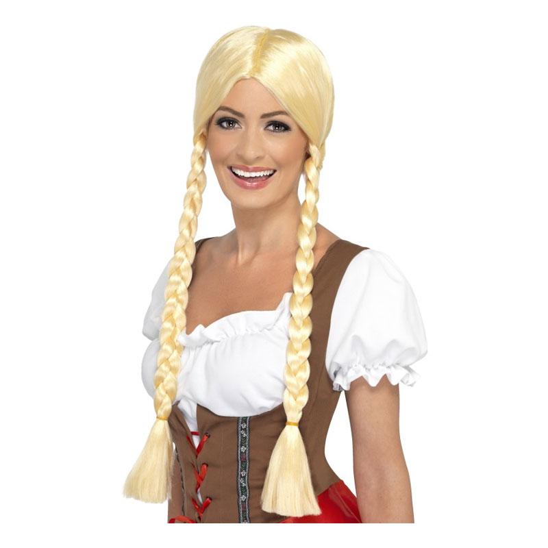 Bavarian Blond Peruk - One size