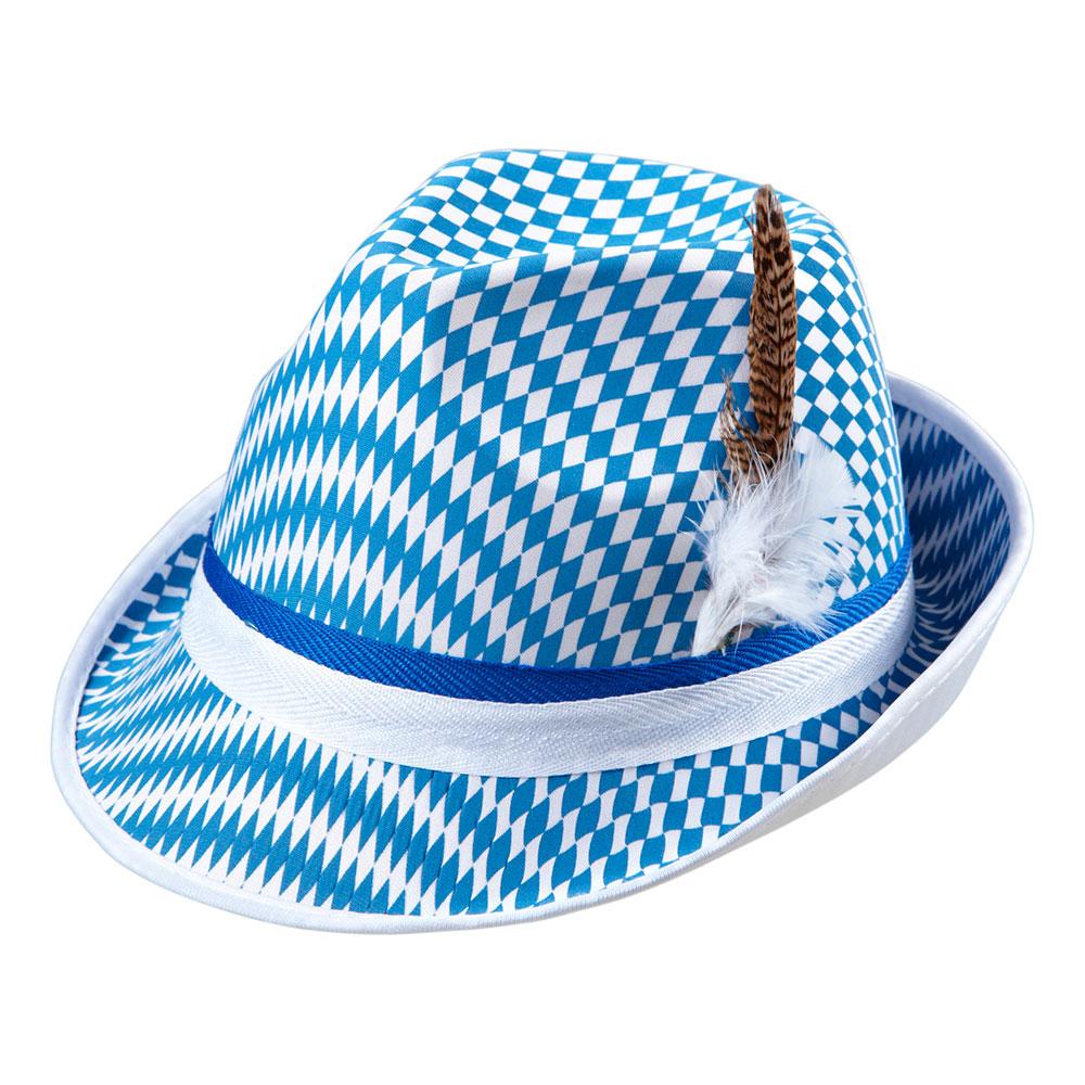 Bavarian Filthatt med Fjäder - One size