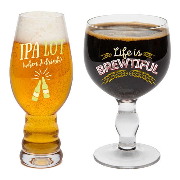 Beer Snob Ölglas Set - 2-pack