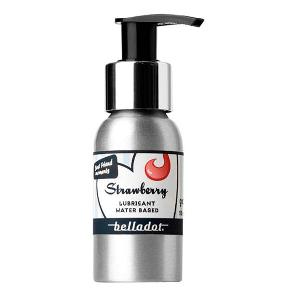 Belladot Glidmedel Original Smaksatt - Jordgubb