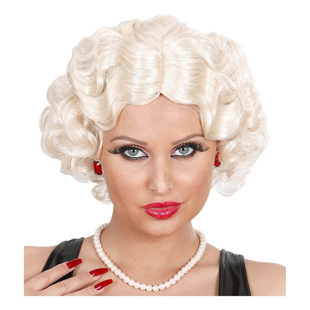 Betty Flapper Kort Blond Peruk