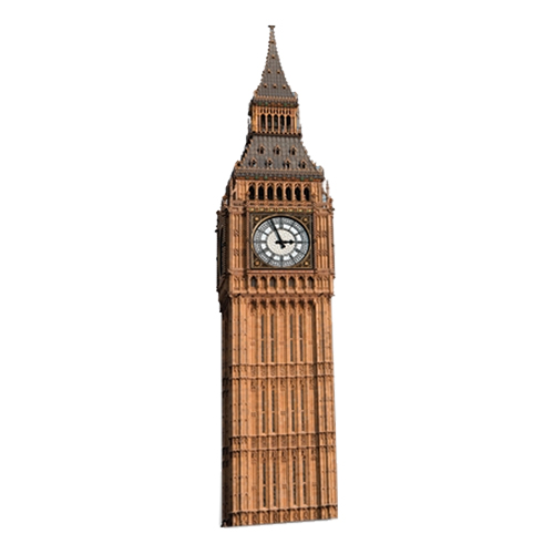 Big Ben Kartongfigur