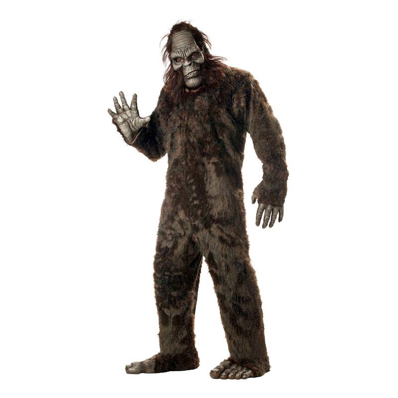 Bigfoot Deluxe Maskeraddräkt - One size