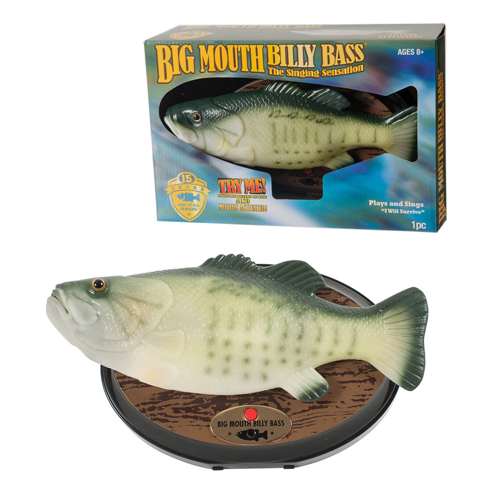 Funtime Gifts Billy Bass Sjungande Fisk