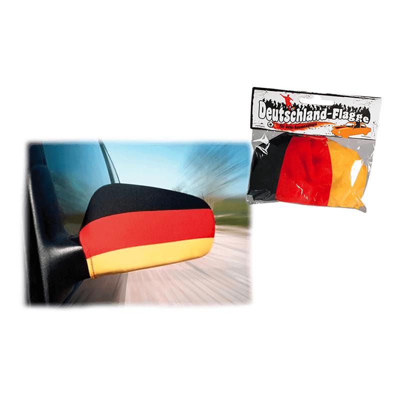 Bilspegelsflaggor Tyskland - 2-pack