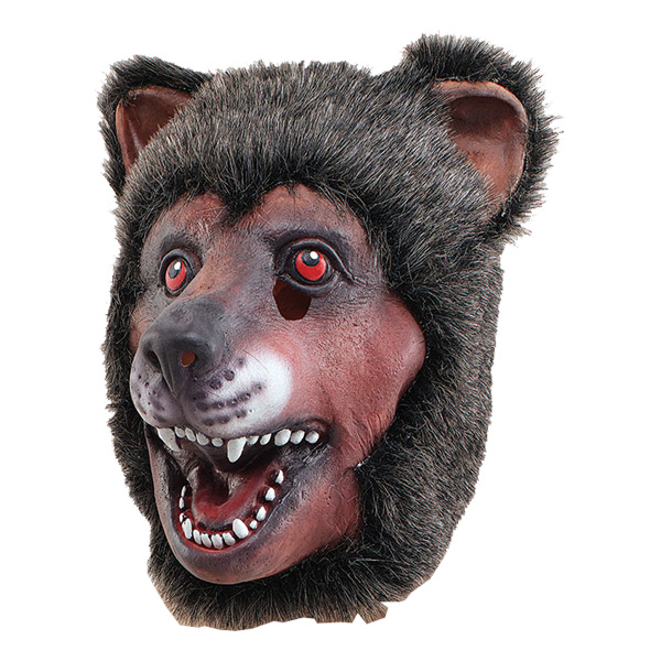 Björnmask i Gummi - One size