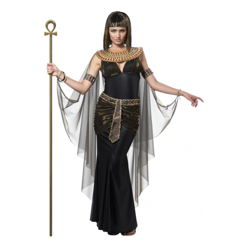 Cleopatra Svart Maskeraddräkt - Small